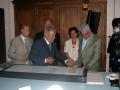 Museo Egizio del Cairo - Cerimonia di apertura del Laboratorio di Restauro dei Papiri