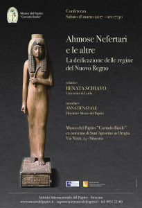2017-Locandina Conferenza Ahmose Nefertari